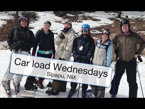 Car-load Wednedays - Skiing and Snowboarding at Sipapu, NM