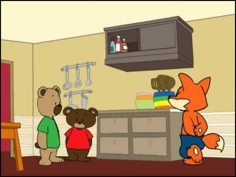 Chuyện kể bé nghe tập 13 - Hai chú gấu tham ăn