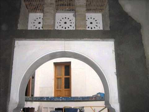 Decoracion arabe en escayola 2 restauracion casa morisca for Decoracion casa granada