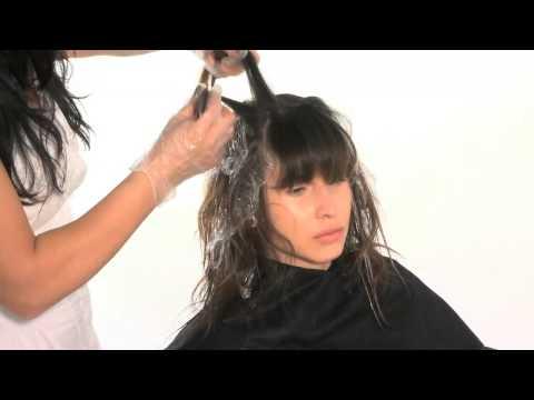 Как покрасить кончики волос: балаяж своими руками