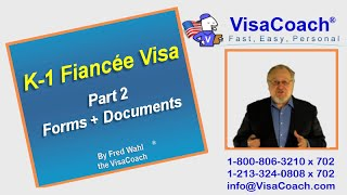 How To Apply For A K-1 Fiancee Visa Form I-129F, Part 2