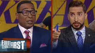 Current Lakers are good enough to win LeBron a championship - Cris Carter   NBA   FIRST THINGS FIRST