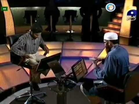 Alif Laam Meem Junaid Jamshed Mufti Muhammad Zubair Geo Tv Show 28 22th August 2011 Complete Program