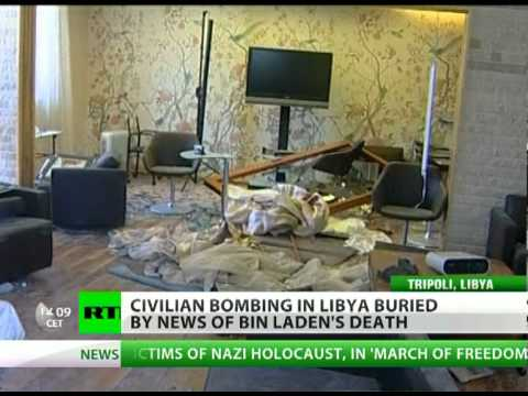 Gaddafi son, grandkids death buried by Bin Laden breaking news