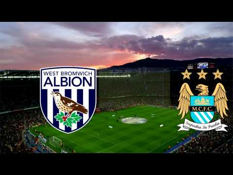 Вест Бромвич - Манчестер Сити 2-3 голы | West Bromwich - Manchester City 2-3 Goals, Highlights
