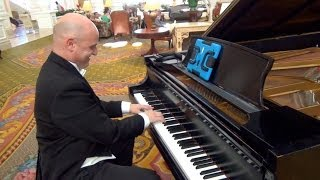 Frozen's Let It Go Played By Piano John At Walt Disney