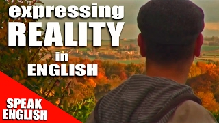 Learning English, Lesson 80, REALITY, Speak English with Mr Duncan