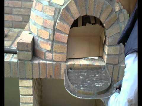 Puerta horno artesanal youtube - Como hacer pizza en horno de lena ...