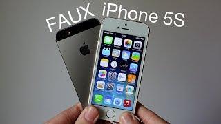 Clone IPhone 5S Gold Et Gris Sidéral