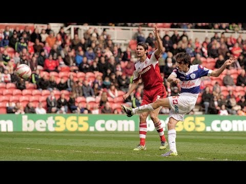 YOSSI BENAYOUN'S FIRST QPR GOAL v MIDDLESBROUGH