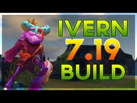 [Guide] Ivern Jungle Best Item Build and Situational Items Patch 7.19 (League of Legends)