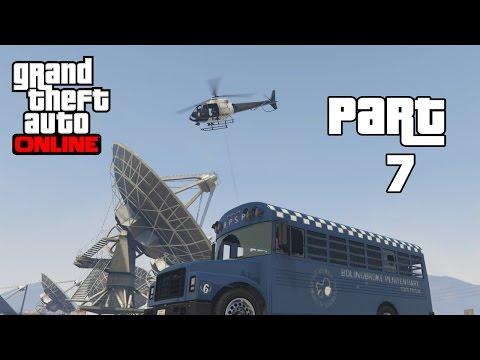 GTA 5 Online Heists - Tập 7: Vượt Ngục #1 (Hiuf Beos Funny Moments)