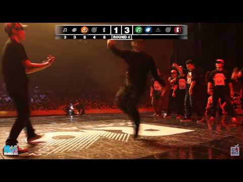 O.U.R. &quot;Fusion MC VS. Korean Assasins&quot; - 2012 R16 Korea Eliminations