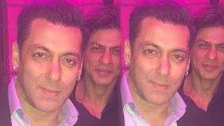 Salman Khan Clicks SELFIE With Shahrukh Khan