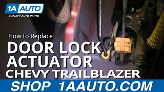 How To Install Replace Broken Power Door Lock Front Chevy