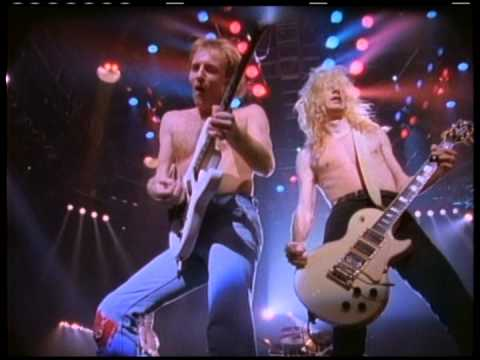 DEF LEPPARD - 'Pour Some Sugar On Me' (Official)