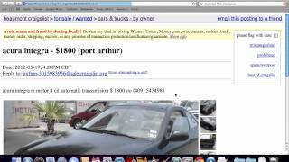 Craigslist Beaumont Texas Used Cars, Trucks And Vans