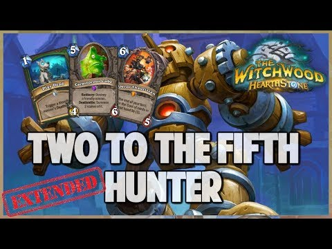 Two to the Fifth Hunter | Extended Gameplay | Hearthstone | The Witchwood