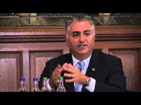 Reza Pahlavi | Can President Rouhani Change Iran | Oxford Union