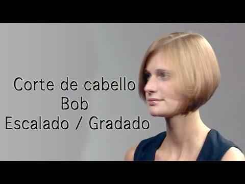 Corte de Cabello Bob Gradado / Escalado para Mujer