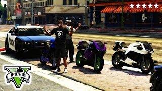 GTA 5 Online COPS & ROBBERS Massacre GTA V Custom Game Mode