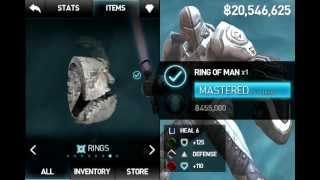 Infinity Blade II (Best Armor/helmet/shied/gems)