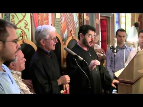 Αγιος ο Θεος Ψάλλει ο Πρωτοψάλτης  Βελλισσάριος Γκεζερλής