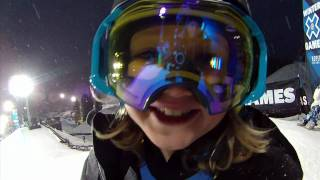 11yr Old Boy Aspen Spora X Games Superpipe Sessions Contour