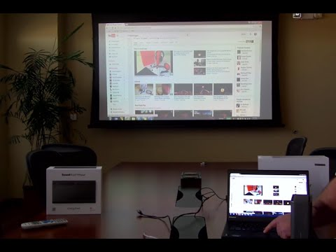 104 inch movie playback and WIDI with a Brilens LS1280 DLP Laser Projector