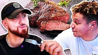 Who Can Cook The Perfect Steak?! *TEAM ALBOE COOK OFF CHALLENGE*