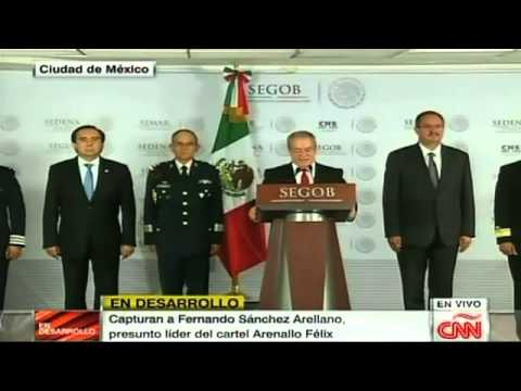 Líder de los Arellano Félix, detenido en Tijuana
