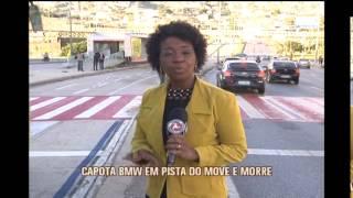 Um morre e tr�s ficam feridos em acidente com BMW na Avenida Ant�nio Carlos