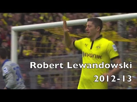 Robert Lewandowski | Goals, Passes and Skills | Borussia Dortmund 2012-13
