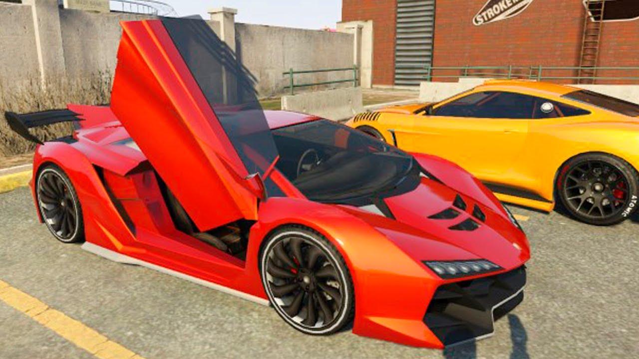 Grand Theft Auto V Customizing Pegassi Zentorno Lamborghini Sesto Elemento And Racing Part