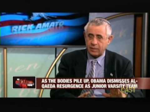 Brigitte Gabriel & Mordechai Kedar: Obama Admin misses on Islamism- Rick Amato Show, AWE-TV