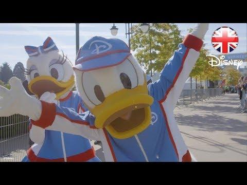 DISNEY HEALTHY LIVING | Disneyland Paris Surprise for Families! | Official Disney UK