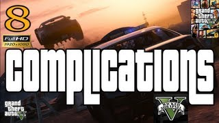 GTA V Complications Mission EP8 #GTAV Part 8 Let's Play walkthrough HD 1080p