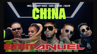 Anuel Aa, Daddy Yankee, Karol G, Ozuna & J Balvin - China (video Oficial)