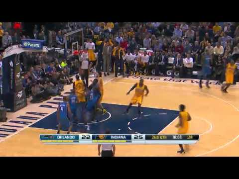 First Half Highlights: Orlando Magic vs. Indiana Pacers [10/29/13]