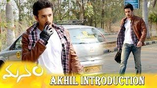 Akhil Introduction Sound Track   Manam  ANR, Nagarjuna