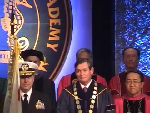 Inauguration of Cal Maritime's 14th President, Rear Admiral Thomas A. Cropper Part 1 of 4