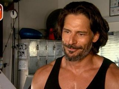 'True Blood' Star Joe Manganiello Talks Fitness