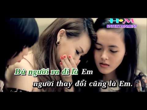 [Karaoke] Nụ Cười Không Vui - Châu Khải Phong (HD 1080p & Full Beat)