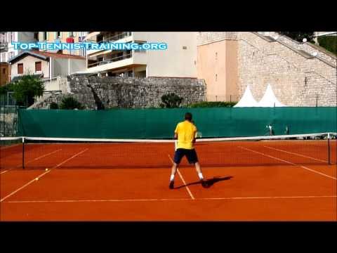 Stan Da Man Wawrinka Training Court Level View HD