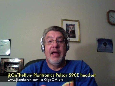 jkOnTheRun- Pulsar 590E headset