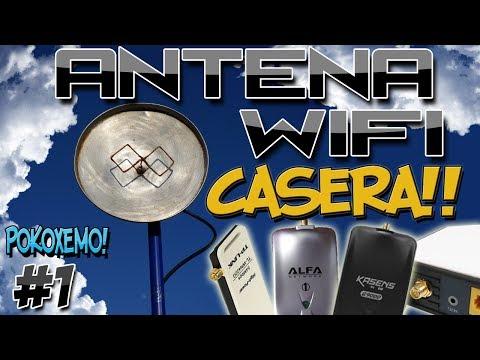 Como Hacer una Antena Wifi Casera Facil