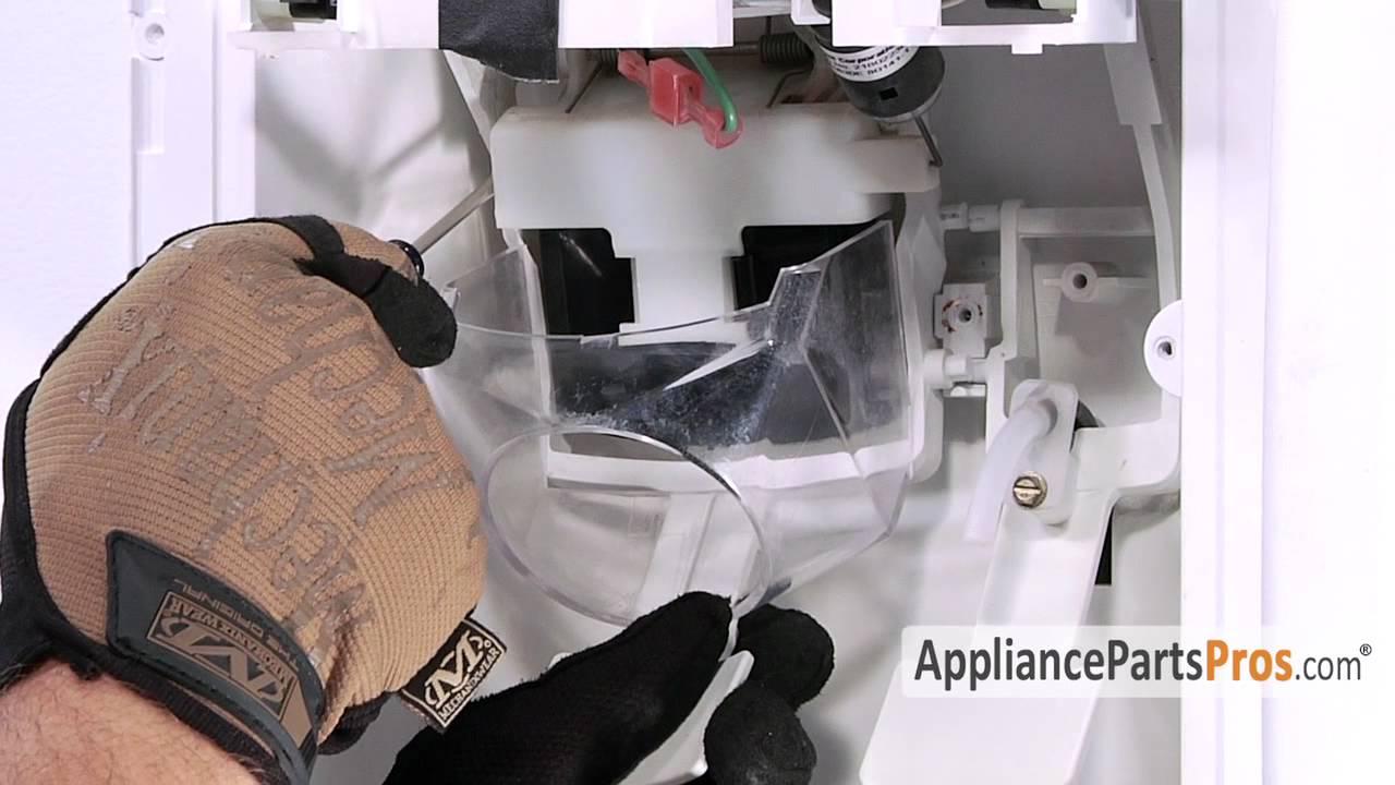 Refrigerator Ice Dispenser Chute Door Part 2180353 How