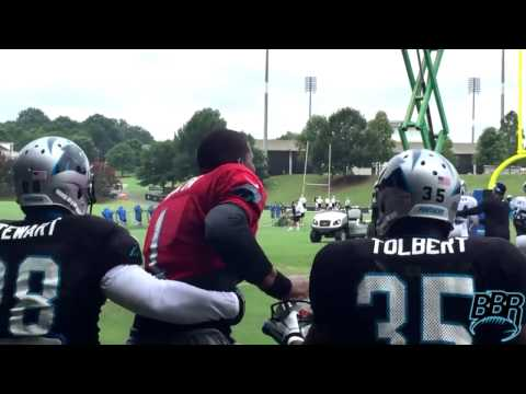 Cam Newton involved in fight at practice