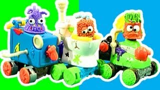 The Trash Pack Gang Scrap Racers Stinkin Poop Crazy Review