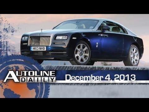 Design Walkaround: Rolls-Royce Wraith - Autoline Daily 1270